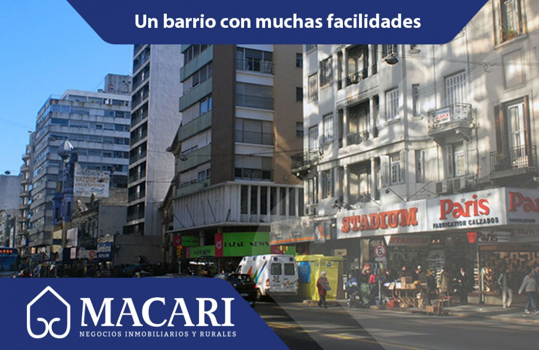 El Centro de Montevideo, todo al alcance de la mano