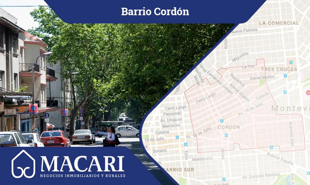 La belleza del barrio Cordón