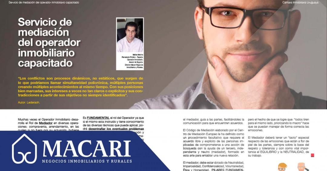 3era nota en Revista Ciudades