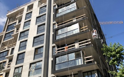 ALMA BRAVA unidades de 1,2 y 3 dormitorios sobre calle Andes